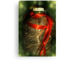 after the Christmas party Canvas Print