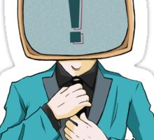 tv head Sticker