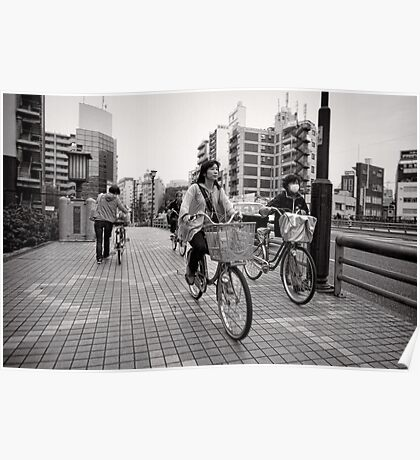 Bicycle Errands - Japan Poster