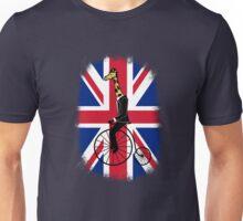 Penny-farthing Giraffe (London Version) Unisex T-Shirt