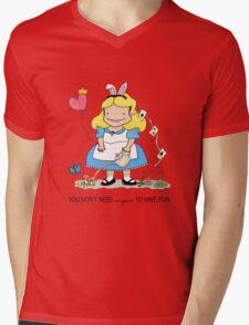 Anyone Mens V-Neck T-Shirt