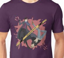 Crime scene investigation round Unisex T-Shirt