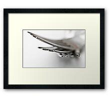 Forked Framed Print
