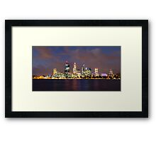 Perth, WA Framed Print