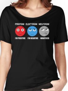 Proton Electron Neutron T Shirt Women's Relaxed Fit T-Shirt