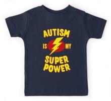 Autism is My Super Power Kids Tee
