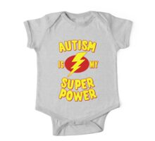 Autism is My Super Power One Piece - Short Sleeve