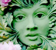 Goddess of Nature Sticker