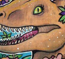 Clever Girl Raptor Sticker