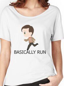 Basically Run Women's Relaxed Fit T-Shirt