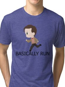 Basically Run Tri-blend T-Shirt