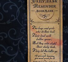 1920s Bookmark by marybedy