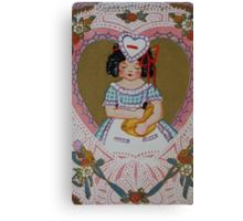 1920s Valentine 4 Canvas Print