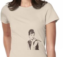 Beautifull Audrey Womens Fitted T-Shirt