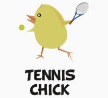 Tennis Chick by AmazingMart