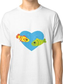 Fish in Love Classic T-Shirt