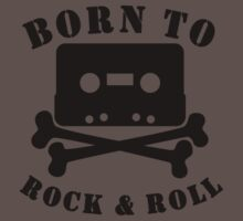 Born To Rock And Roll One Piece - Short Sleeve