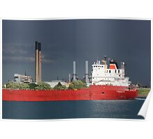 Freighter and Stacks 2 Poster