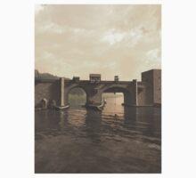 Old Medieval Bridge One Piece - Long Sleeve
