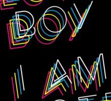 The Mighty Boosh – I Am Electro Boy, I Am Electro Girl Sticker