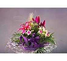 Colorful Floral Arrangement Photographic Print