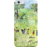 Field Workers iPhone Case/Skin