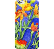 Yellow Lilies iPhone Case/Skin