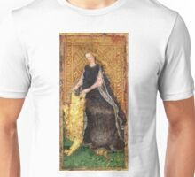 Medieval Lady and Lion Unisex T-Shirt