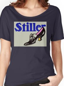 Retro vintage style ladies' shoes advertising Women's Relaxed Fit T-Shirt