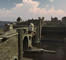 Bridge to the Old Town by algoldesigns