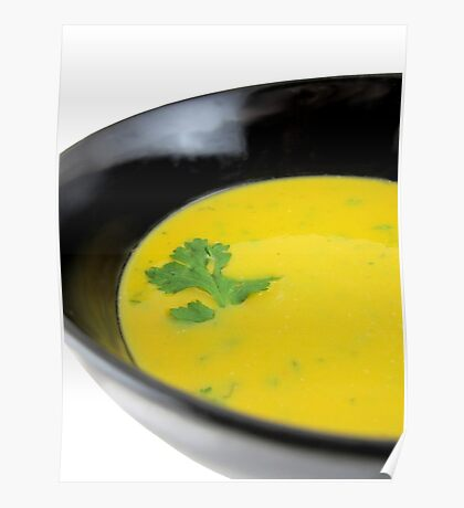 Thai Pumpkin with coconut cream soup Poster