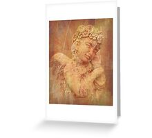 A Little Angel Wishes You Love, Peace and Joy Greeting Card