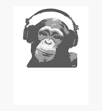 DJ MONKEY Photographic Print