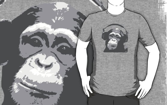 DJ MONKEY by WAMTEES