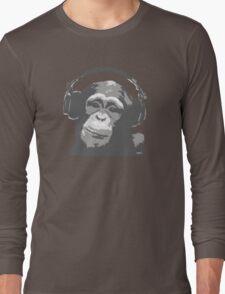 DJ MONKEY Long Sleeve T-Shirt