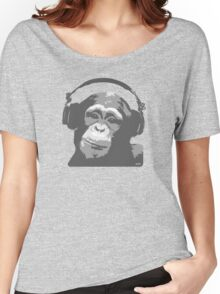 DJ MONKEY Women's Relaxed Fit T-Shirt