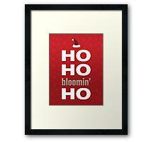 Ho ho Framed Print