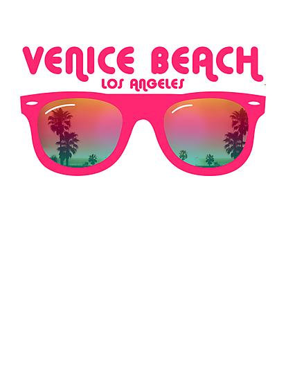 Venice Beach Sunglasses reflect by WAMTEES