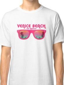 Venice Beach Sunglasses reflect Classic T-Shirt