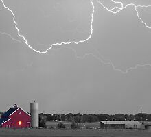 C2C Red Barn Lightning Rodeo SC BW by Bo Insogna