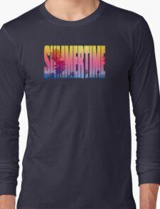 Summertime Long Sleeve T-Shirt