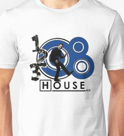 Rock House Blue Unisex T-Shirt