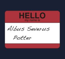 HELLO my name is...Albus Severus Potter! One Piece - Long Sleeve