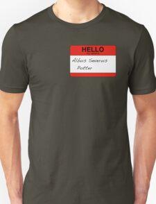HELLO my name is...Albus Severus Potter! T-Shirt