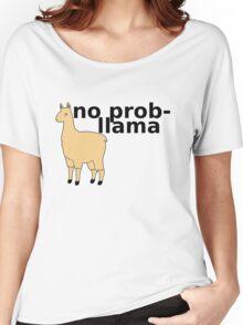 No Prob-Llama Women's Relaxed Fit T-Shirt