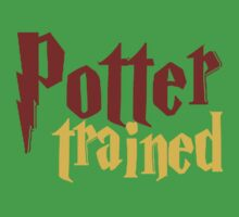 Potter Trained! One Piece - Short Sleeve