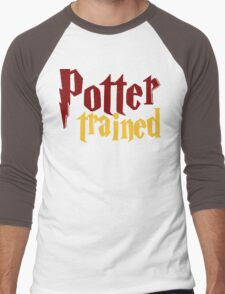 Potter Trained! Men's Baseball ¾ T-Shirt