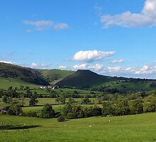 Thorpe Cloud in June by Paul  Green