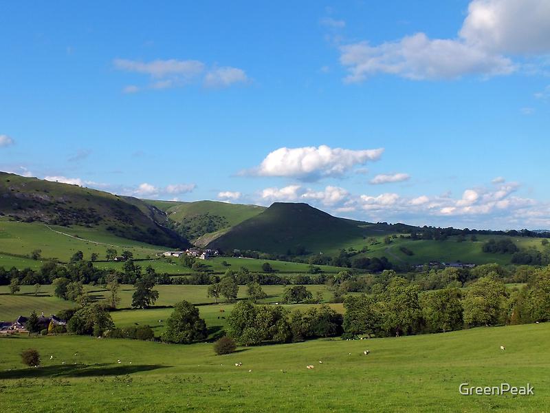 Thorpe Cloud in June by Paul  Green