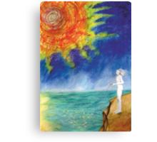 The sun fisheries Canvas Print